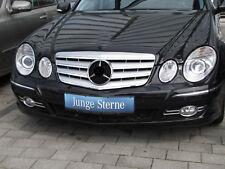Cromo Parrilla de la Plata para Mercedes Benz W211 Clase E Mopf 2006-2009