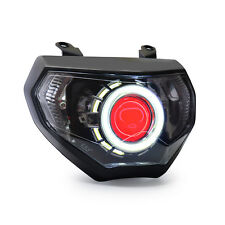 KT LED Halos Eye HID Headlight Assembly for Yamaha FZ09 MT09 2014 2015 2016 Red