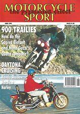 Motorcycle Sport - Honda VT1100C Shadow Cagiva Elefant 900 Moto Guzzi Quota 1000