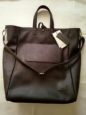 Authentic Trussardi Large Black Tote Shopper Bag BNWT with Certificate