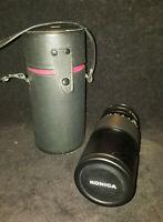 Objectif Lens KONICA 200mm 3,5 Hexanon AR 200 mm f3.5 + housse