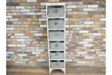 Industrial Storage Unit Distressed and Cool Furniture