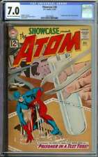 SHOWCASE #36 CGC 7.0 LT/OW PAGES