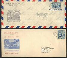 CANADA 1946 COLONIAL AIRLINES COVER FIRST OFFICIAL FLIGHT OTTAWA WASHINGTON PLUS