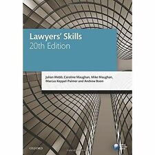 Lawyers' Skills (Blackstone Legal Practice Course Guide) by Webb, Julian, Maugh