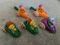 Vintage 1988 Fraggle Rock McDonald's Happy Meal Toys