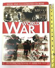 World War II Large Coffee Table Illustrated History Book and CD w Images Gift HC