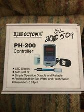 Reef Octopus PH-200 Controller LED Display Test Salt / Fresh Water Kit