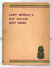 LADY NEWALL'S NEW ZEALAND GIFT BOOK 1943 W/DJ ILLUSTRATED WWII WAR EFFORTS FUND