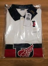 RALPH LAUREN POLO STADIUM 1992 P-WING SHIRT SIZE LARGE ORIGINAL LIMITED EDITION