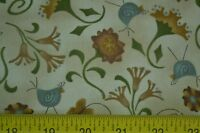 Back Yard Friends by Whimsicals Red Rooster Fabric Lot of 3 yards!