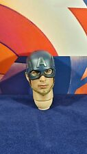 Genuine Hot Toys 1/6 Action Figure MMS281 Avengers Captain America Helmet head !