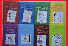 8 x Gregs Tagebuch, Jeff Kinney: Band 1,2,3,4,5,6,7, 8.  Gebundene Bücher