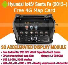 Android Auto Radio DVD GPS for Hyundai Santa Fe 2015 Autoradio 8 Core 4G/32G