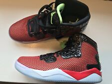 New Air Jordan Spike Forty Basketball Shoes, UNVRSTY RED/GHST GRN-BLK 9.5 RARE