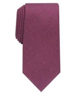 MSRP $55 Perry Ellis Men's Ruthven Micro-Dot Tie One Size