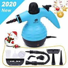MLMLANT Multi-Purpose Handheld Pressurized Steam Cleaner with 9-Piece Accessory