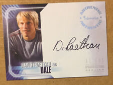 Aliens vs Predator: Requiem A6 David Paetkau as Dale Auto A-6 Autograph