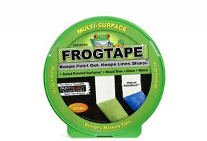 Frog Tape Multi Surfaced Green Painter's Masking Tape 24mm X 41.1M