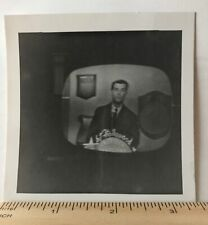 American Bandstand Hollywood Vtg TV screen Original Kodak Photograph Dick Clark