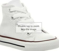 White High Top Converse Size 2