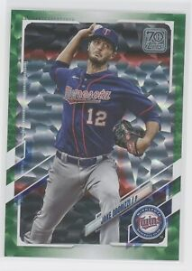 JAKE ODORIZZI 2021 TOPPS SERIES ONE GREEN #/499 TWINS 142
