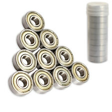10pcs Skateboard Scooter Ball Roller Ball Bearings Skate Bearings Wheels 608Zz