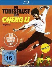 § Blu-ray * BRUCE LEE - DIE TODESFAUST DES CHENG LI (UNCUT) # NEU OVP
