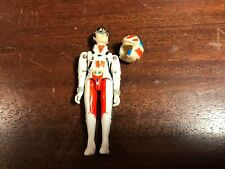 "Vintage 1985 MATCHBOX Robotech RICK HUNTER 3.75"" Posable Action Figure w/Helmet"