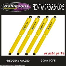 "FORD F SERIES F250 2001-11/2006 2"" LIFT FRONT & REAR DOBINSONS SHOCK ABSORBERS"