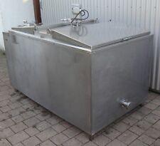 850 ltr Milchtank Edelstahltank Edelstahlfaß Biertank Honigtank Wasserbad