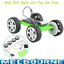 Solar Power Energy Mini Creative DIY Kids Toy Car Children Education Gadget 8cm