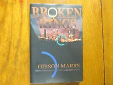 "GIBSON   MARRS  Signed  Book (""BROKEN  WINGS""-1996  First  Edition  Hardback"