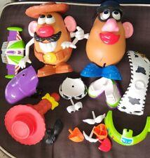 💥Playskool Mr. & Mrs. Potato Head & 34 piece Accessories & Parts Lot Toy Story