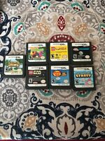 lot of 7 nintendo ds games