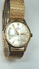 Vintage Milus Swiss made gold plated watch.