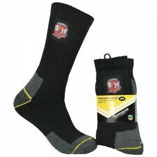 Adelaide Crows AFL Football Cotton Blend Work Socks 2pk