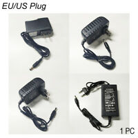 Converter US/EU Plug Charger 1A 2A 3A 5A 100-240V AC/DC Adapter Power Supply