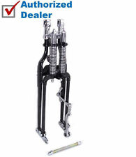 Black Chrome Replacement Replica FLST Springer Front End Harley Heritage Softail