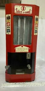 Vintage Select-O-Vend Vending Machine