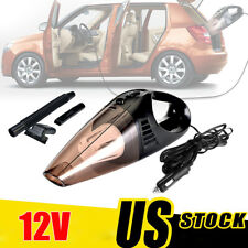 12V Car Vacuum Cleaner Handheld Wet Dry 120W Mini Hand Held For Auto Dust Duster