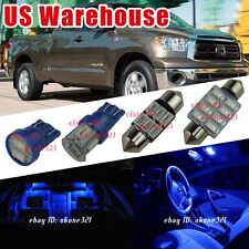 15-pc Pure Blue LED Interior Roof Light Dome Package Kit for 07-16 Toyota Tundra