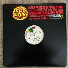 Wild Pitch Classics 1994 rap 2LP Main Source Gang Starr Lord Finesse vinyl recor