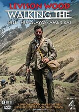 LEVISON WOOD Walking the Nile Himalayas Amerikas BOX 4 DVD in Inglese NEW .cp