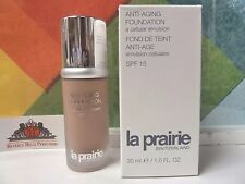 LA PRAIRIE ANTI - AGING FOUNDATION 600 1.0 OZ / 30 ML NEW IN BOX SPF 15
