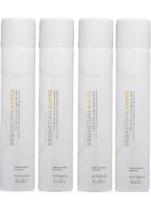 4 Professional Sebastian Shaper Dry Brushable Styling Hairspray10.6 Oz Each