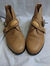 Women's Ariat buckle casual boots brown Size 6.5 Narrow GUC!!