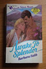 Barbara Faith, Awake to Splendor - Silhouette Intimate Moments