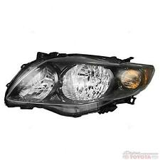 OEM TOYOTA COROLLA  S , XRS  DRIVER SIDE HEADLAMP 81150-02680 FITS 2009-2011