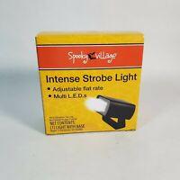 Spooky Village Intense Strobe Light Adjustable flat rate Multi LEDs